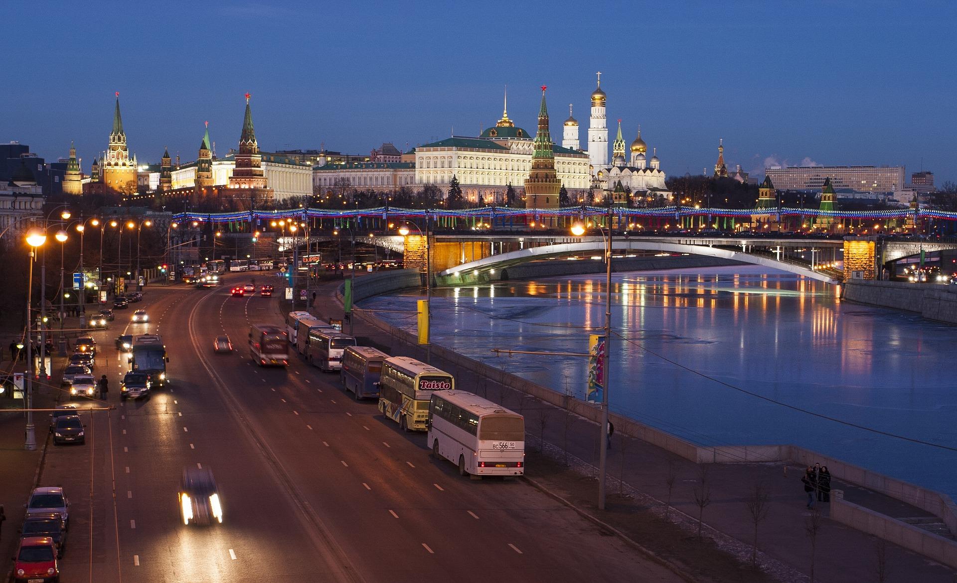 Nádherný pohled na Moskvu