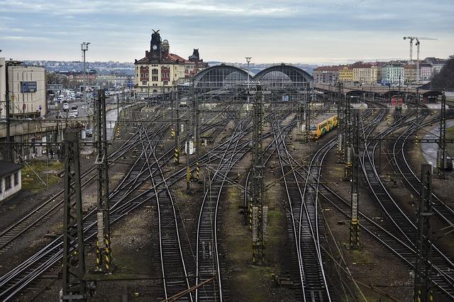 hlavní vlakové nádraží