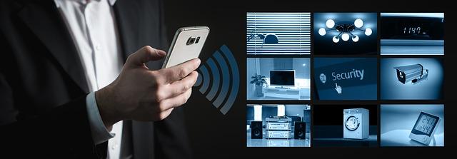 ovládání chytré domácnosti pomocí wifi